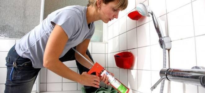 Какой силиконовый герметик лучше для ванной