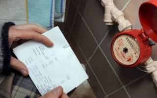 Какие цифры записывать с счетчика воды