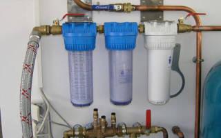 Подключение фильтра для воды к водопроводу