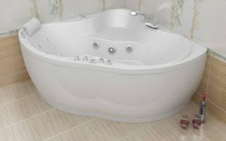 Ванна акриловая характеристики