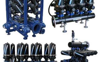 Промышленный фильтр грубой очистки воды