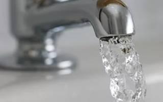 Перерасчет коммунальных платежей за воду по счетчику