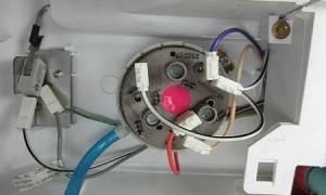 Регулировка прессостата стиральной машины