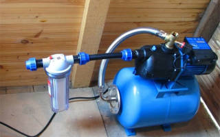 Разводка холодной воды в частном доме