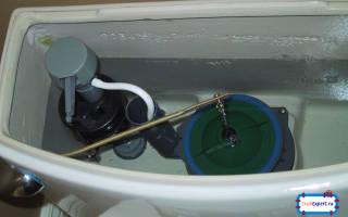 Устройство поплавка сливного бачка с нижней подводкой