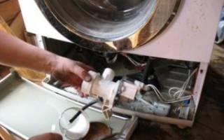 Не сливается вода в стиральной машине