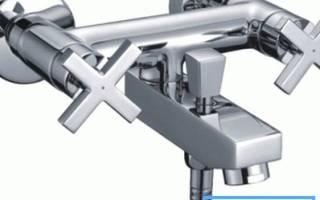 Водопроводный кран переключатель