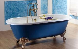 Чугунная ванна вес