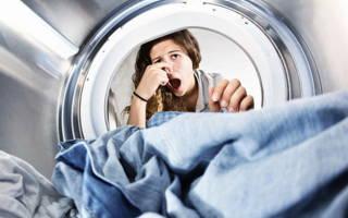 Запах из барабана стиральной машины как избавиться