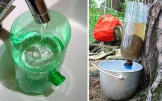 Самодельный фильтр для воды своими руками
