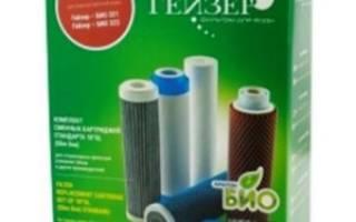 Как поменять фильтр для воды гейзер