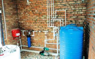 Правила установки приборов учета воды
