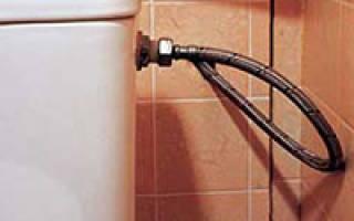 Клапан сливного бачка унитаза не перекрывает воду